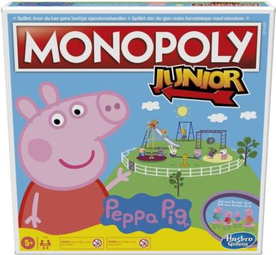 Spill Monopol Junior Peppa Pig No